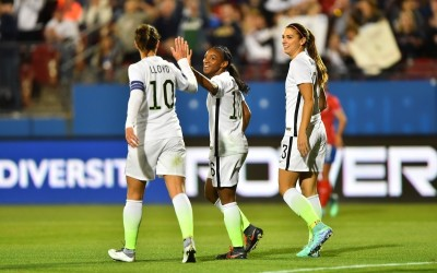 USWNT Defeats Costa Rica 5-0 in Olympic Qualifying Opener
